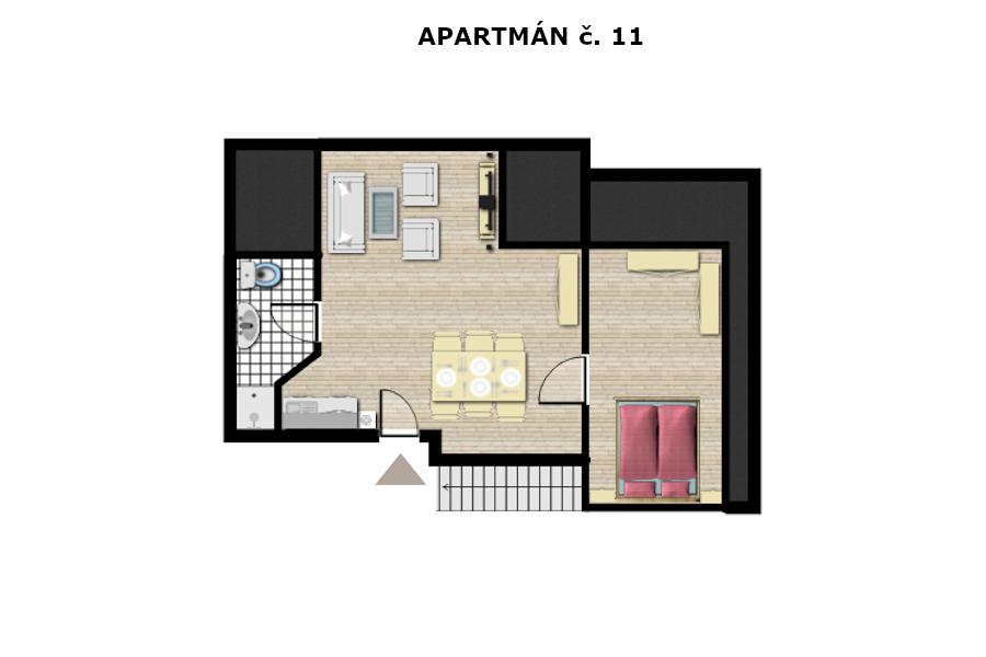Apartmán č. 11