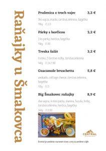 Raňajky u Šmakovca
