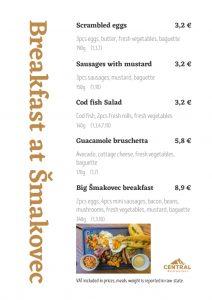 Breakfast at Šmakovec