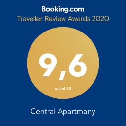 hodnotenie booking.com Central Apartmany